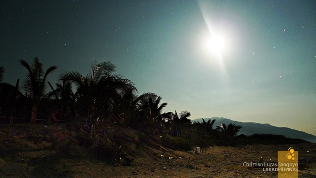 Moonshine at Abra de Ilog's Amazona Beach