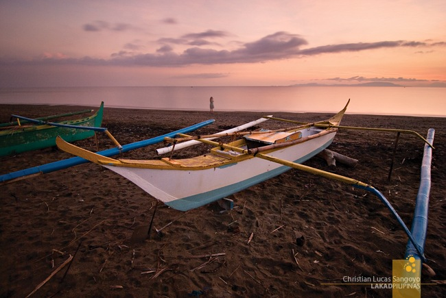 Magenta Morning at Abra de Ilog's Amazona Beach