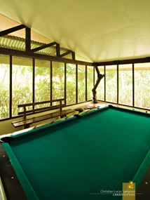 Billiard Hall at the Coffee Farmhouse