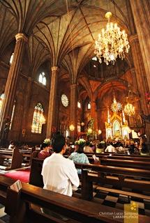 Medieval Ambience at Manila's San Sebastian