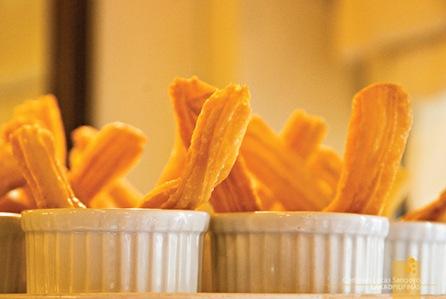 Churos Galore at Grills & Sizzles