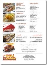 Grills & Sizzles Menu 2