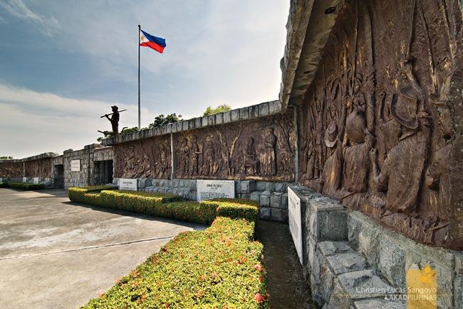 The Murals at the Filipino Heroes Memorial in Corregidor