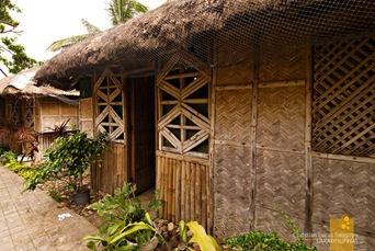 Bahay Kubo Cottages at Corregidor's MacArthur Cafe