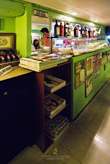 Magazines at the Counter of Cafe Arabela