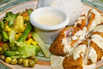 Chicken Roll (P180.00) at Liliw's Café Arabela