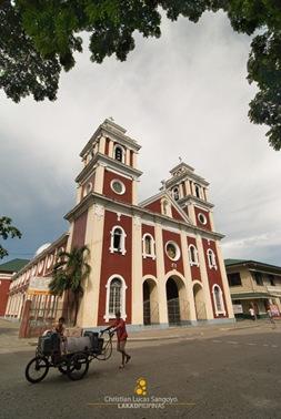 Gloomy Afternoon at Iloilo City's San Jose Church