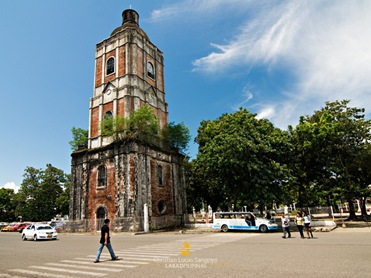 The Jaro Cathedral Belfry at the Graciano Lopez Jaena Plaza