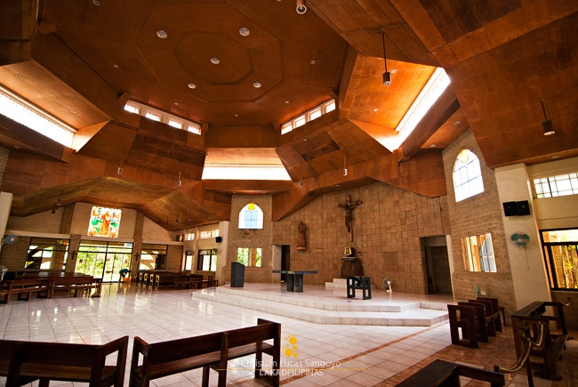 The Airy Hall of the Main Church in Trappist
