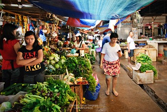 Veggie Section at Coron Market