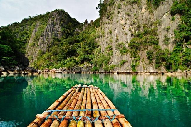Stillness at the Coron's Twin Lagoon