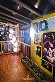 A Bob Marley Wall at Coron Village Lodge
