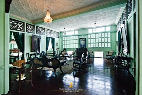 The Main Living Area of Bernardino Jalandoni Museum in Silay City