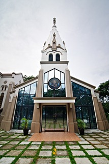 The Burial Chapel at Bacolod's Lupit Church