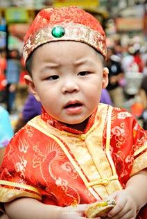 Chinese Baby at Chinatown Manila