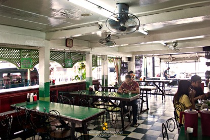 The Open Dining Area at Lola Ely's Tapsilog in Manila