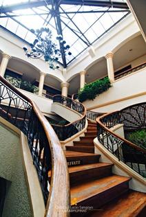 Caleruega Lobby's Grand Staircase