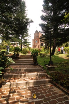 The Path to Caleruega's Transfiguration Chapel