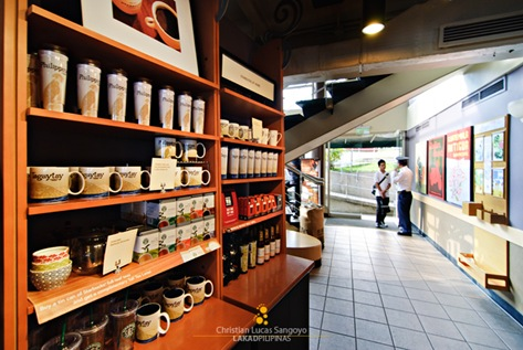 Mug Rack at Starbucks Tagaytay