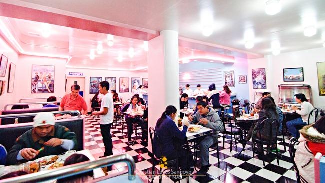 Inside Baguio's Retro 50's Diner