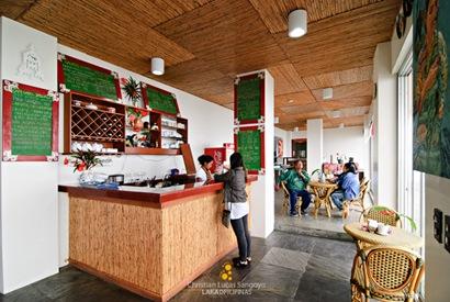 Inside Cafe Sabel
