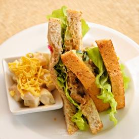 Cafe Sabel's Chicken Sandwich