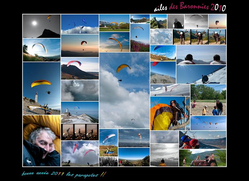 2010, c'est fini!! Bonne année 2011 Montages2