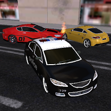 Cops and Robbers Simulation 3D