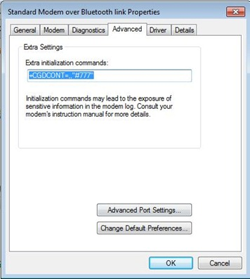 nokia cdma windows 7 connection setting