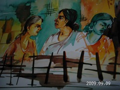women - art by rekha shrivastava