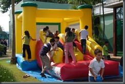 Permainan Inflatable Fortress