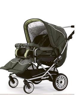 Emmaljunga Twin Nitro criandomultiples.blogspot.com carros gemelares