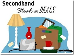 secondhand steals and deals button