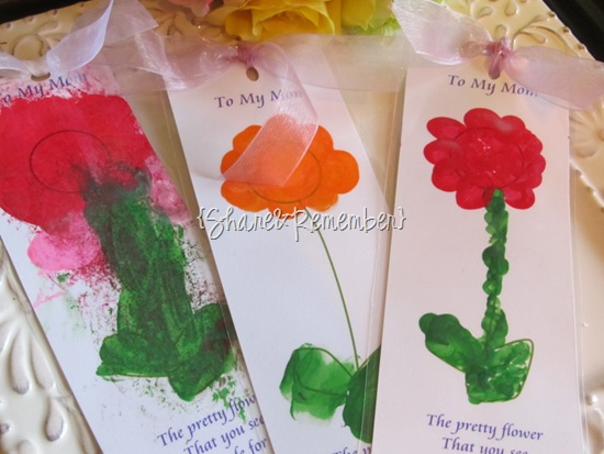 Printable Flower Bookmark For Mom Mother S Day Gift