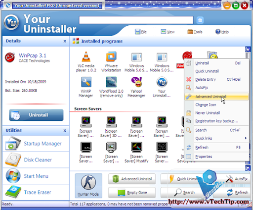 Your Uninstaller! 6.3.2009.12 + 7.0.2010.1 + Portable