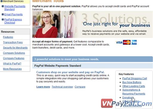 Tạo Nút PayPal Donate Để Quyên Góp, Ủng Hộ Tiền Cho Blog