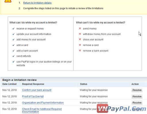 PayPay Limit và Vấn Đề Không Thể Giải Quyết