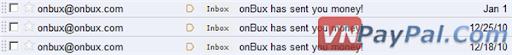 Nhận Thanh Toán OnBux Mới Nhất - OnBux Payment Proof