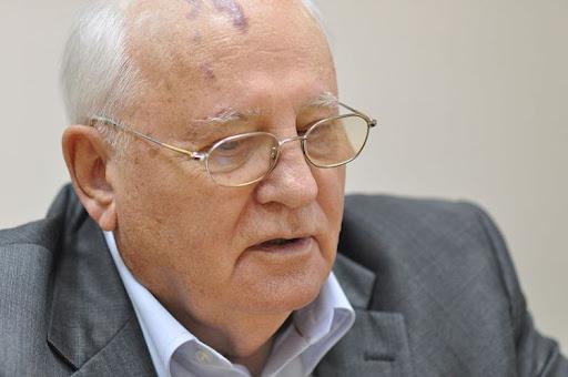 Горбачёв. Фото Вени Марковски