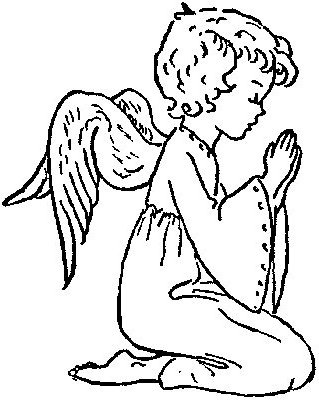 angeles colorear (11)