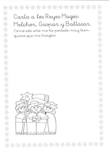 11-Carta a lo Reyes Magos 3