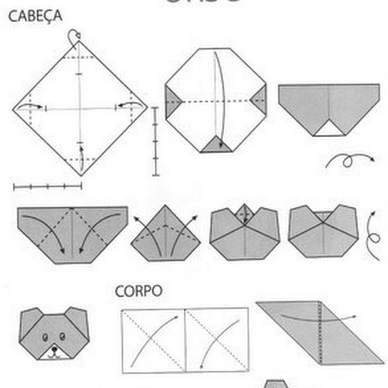 Papiroflexia muy fácil para niños OSO