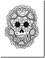 dia de los muertos mexico www.colorear (3)