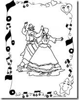 Dibujos para colorear Folclore argentino  Colorear dibujos infantiles