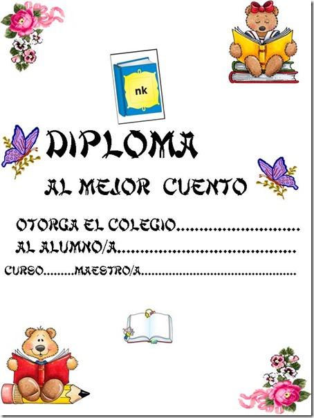 DIPLOMA REDACCIÓN DE CUENTOS
