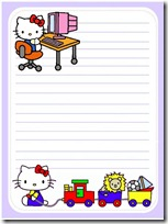 papel carta hello kitty blogcolorear (17)