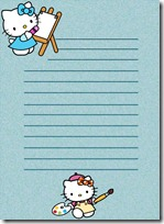 papel carta hello kitty blogcolorear (13)