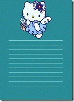 papel carta hello kitty blogcolorear (10)