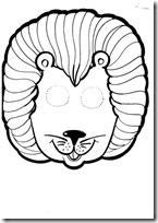 mascara león -blogcolorear-com (10)