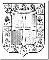 colorear escudo jaen blogcolorear